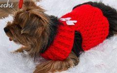 Roupa Pet Fêmea Em Crochê – Material e Vídeo
