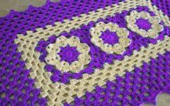 Tapete Retangular Flor Rasteirinha Em Crochê – Material e Vídeo