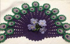 Toalha Pavão Peacock Crochê – Material e Vídeo