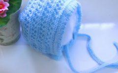 Touca de Bebê Retro Em Tricô – Material e Vídeo