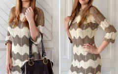 Vestido Chevron Em Crochê – Material e Receita
