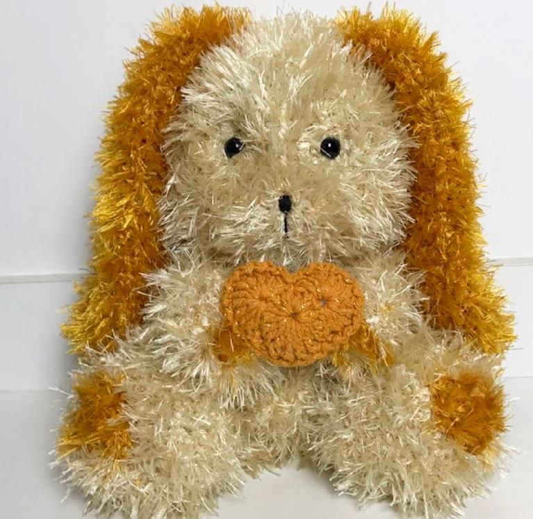 Amigurumi Cachorro Baby Cocker Em Crochê – Material e Receita