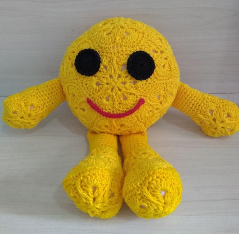 Amigurumi Emoji Em Crochê – Material e Receita