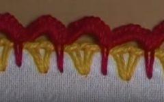 Bico Ondinhas Em Crochê – Material e Vídeo