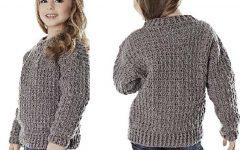Blusa Infantil Alumínio Em Crochê – Material e Receita