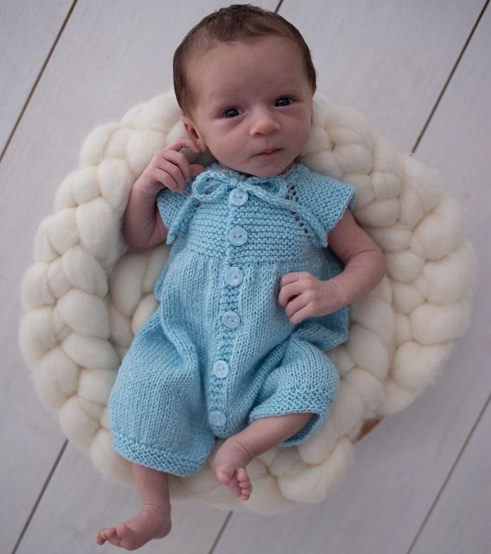 Body Bebê New Born Candy Em Tricô – Material e Receita