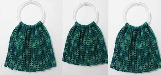 Bolsa Eco Bag Em Crochê – Material e Vídeo