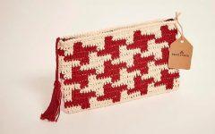 Clutch Bella Arte Em Crochê – Material e Receita