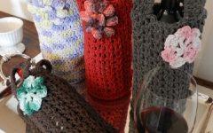 Embalagem Para Vinho Em Crochê – Material e Receita