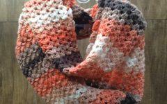 Gola Dupla Batik Em Crochê – Material e Vídeo