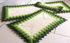 Jogo Cozinha Folhagem Em Crochê – Material e Vídeo