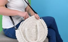 Maxi Bolsa Em Crochê – Material e Receita