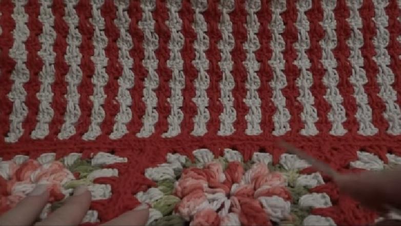 Ponto Listras Em Crochê – Material e Vídeo