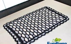 Tapete Colmeias Em Crochê – Material e Receita