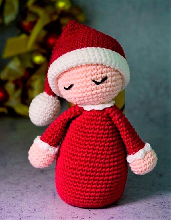 Amigurumi Bebe Noel Em Crochê – Material e Receita