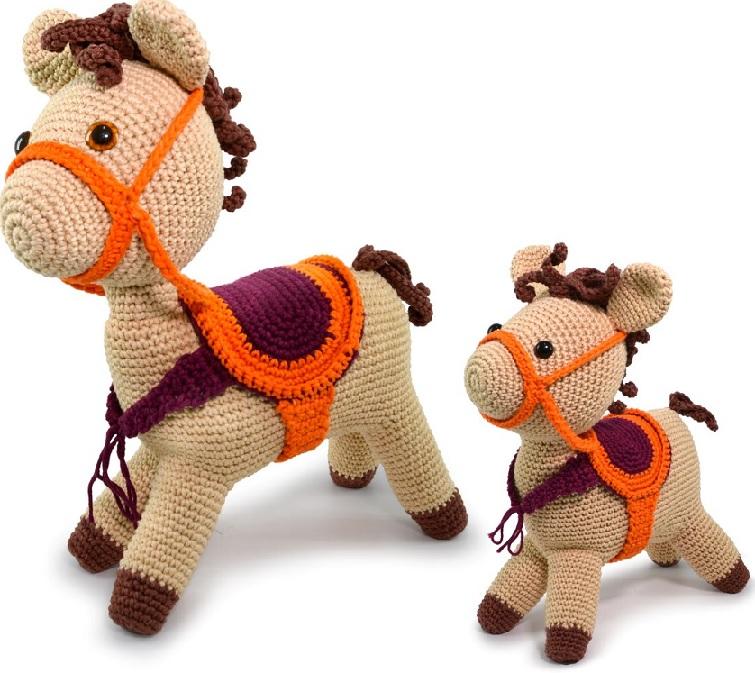 Amigurumi Cavalo Em Crochê