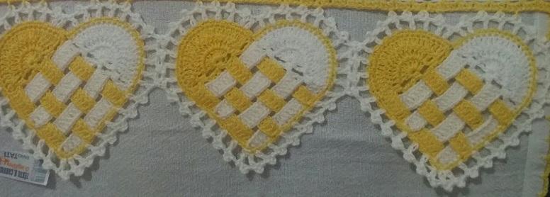 Bico Coração Trançado Em Crochê – Material e Vídeo
