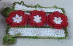 Puxador de Geladeira Primavera Em Crochê – Material e Vídeo
