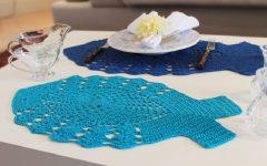 Sousplat Peixe Em Crochê – Material e Receita
