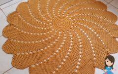 Tapetão Flor Em Crochê – Material e Vídeo