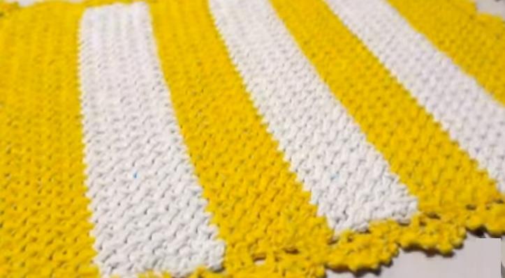 Tapete Aquarela Em Crochê – Material e Vídeo