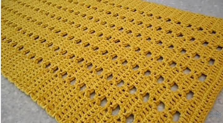Tapete Fácil e Rápido Em Crochê – Material e Vídeo