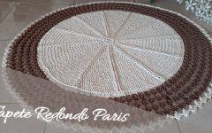 Tapete Redondo Paris Em Crochê – Material e Vídeo