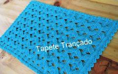 Tapete Trançado Jade Em Crochê – Material e Vídeo