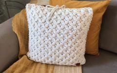 Almofada Elegante Em Crochê – Material e Vídeo