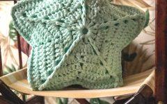 Almofada Estrela Do Mar Em Crochê – Material e Receita