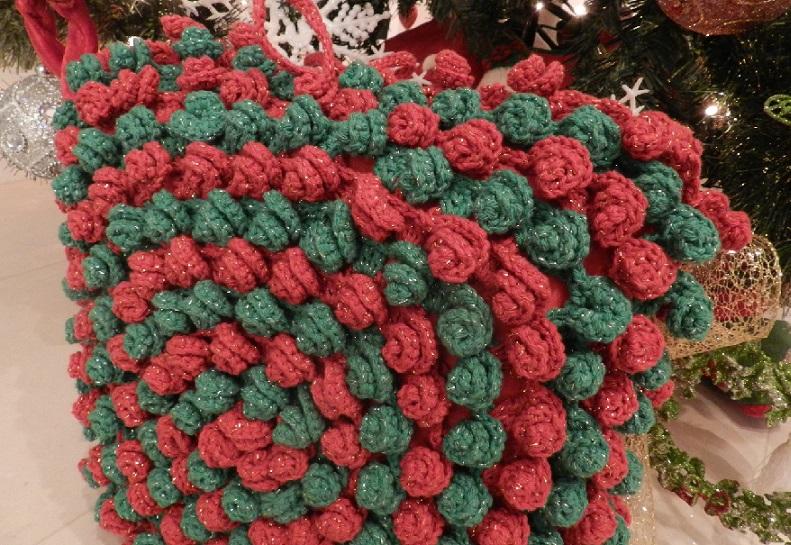 Almofada Linda de Natal Em Crochê – e Receita