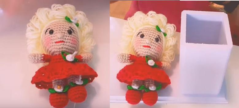 Amigurumi Boneca Fofura Em Crochê – Material, Vídeo e Receita