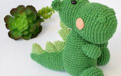 Amigurumi Dinossauro Be Em Crochê – Material e Receita