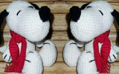 Amigurumi Snoopy Em Crochê – Material e Vídeo