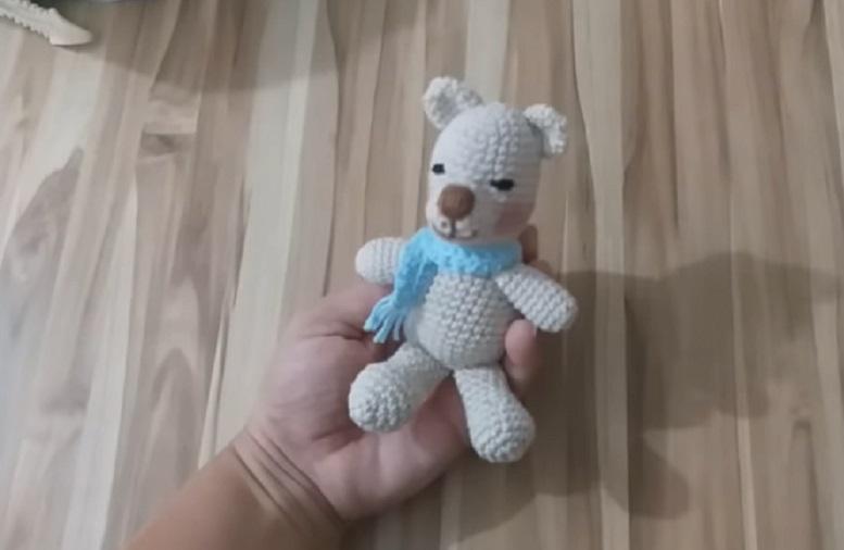 Amigurumi Ursinho Wil Em Crochê – Material e Vídeo