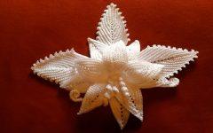 Arranjo Flor Delicada Em Crochê – Material e Vídeo
