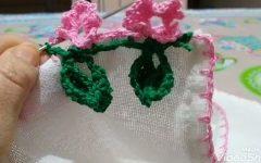 Barrado Flor de Cerejeira Em Crochê – Material e Vídeo