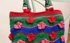 Bolsa Primavera Em Crochê – Material e Receita