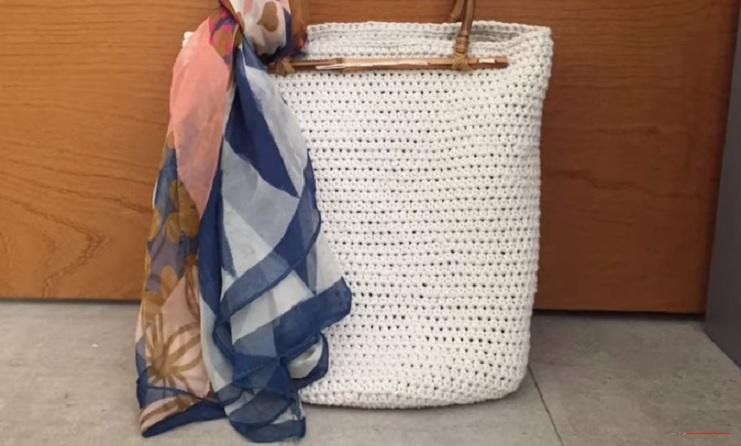 Bolsa Tendência Em Crochê – Material e Vídeo