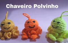 Chaveiro Polvinho Em Crochê – Material e Vídeo