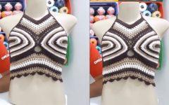 Cropped Charme Em Crochê – Material e Vídeo