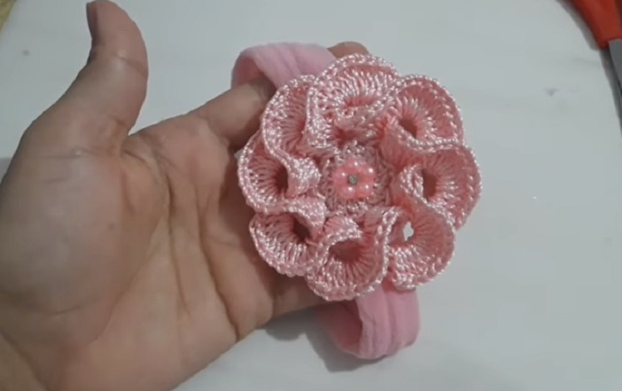 Flor 3D Para Aplicação Em Crochê – Material e Vídeo