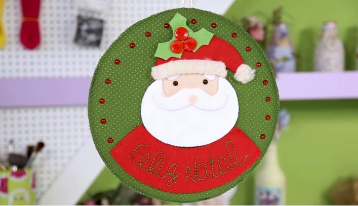 Papai Noel Em Feltro – Material e Vídeo