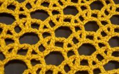 Ponto Rendado Argola Em Crochê – Material e Vídeo