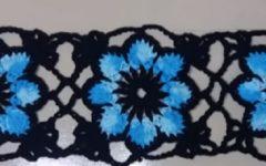 Square Flores Em Crochê- Material e Vídeo