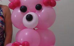 Urso Para Festa Feito De Balões – Material e Vídeo