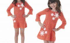Vestido Flor Em Crochê – Material e Receita