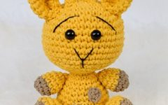 Amigurumi Girafa Oliver Em Crochê– Material e Vídeo