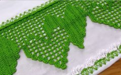 Barrado Coração Duplo Em Crochê – Material e Vídeo