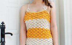 Blusa Fiore Em Crochê – Material e Receita